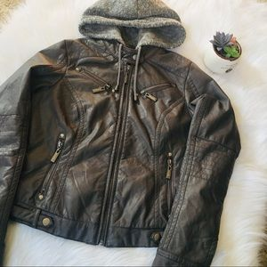 J2 Faux Leather Jacket